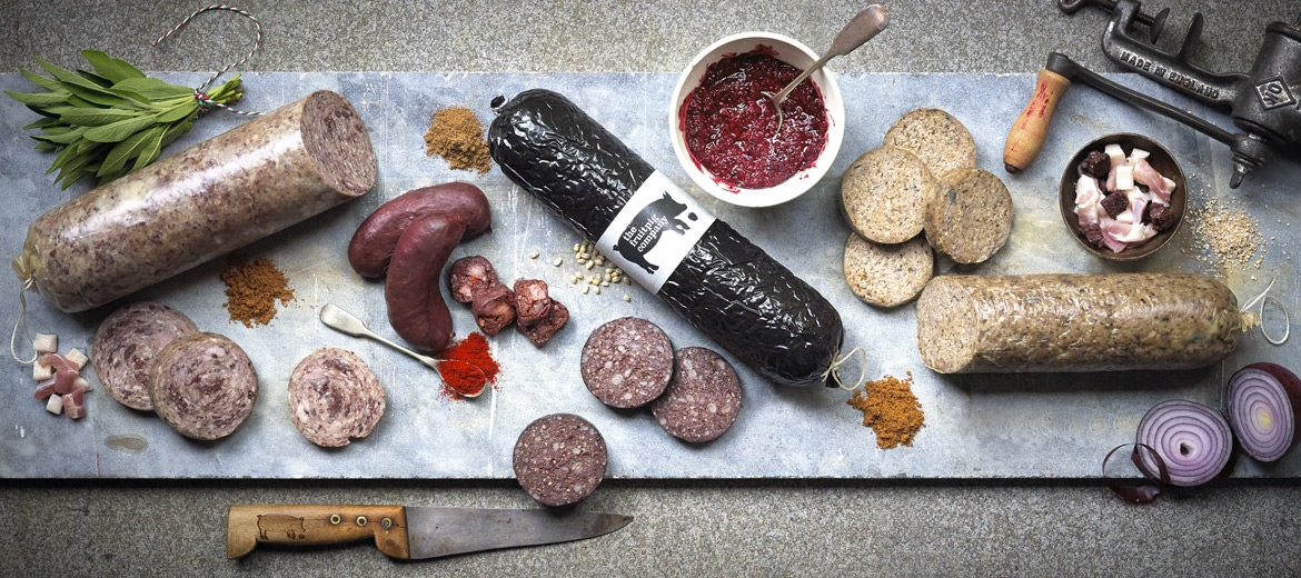 Award winning fresh blood black pudding