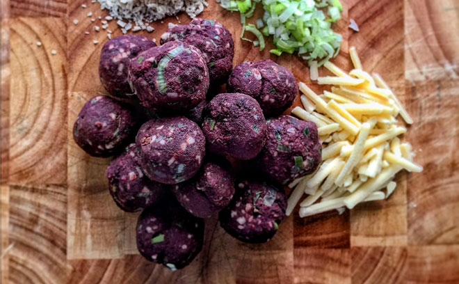 Black Pudding Bon-bons